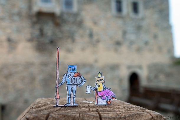 Svrcek - 10 - Knight tournament at Kašperk castle